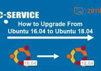 Оновлення Ubuntu 16.x на Ubuntu 18.x ZCS 8.8.15