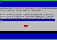 MySQL на Debian 10 (Buster)